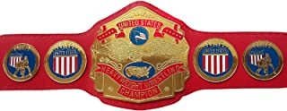 NWA United States Heavyweight Championship Replica Title Belt Metal Plates Adult