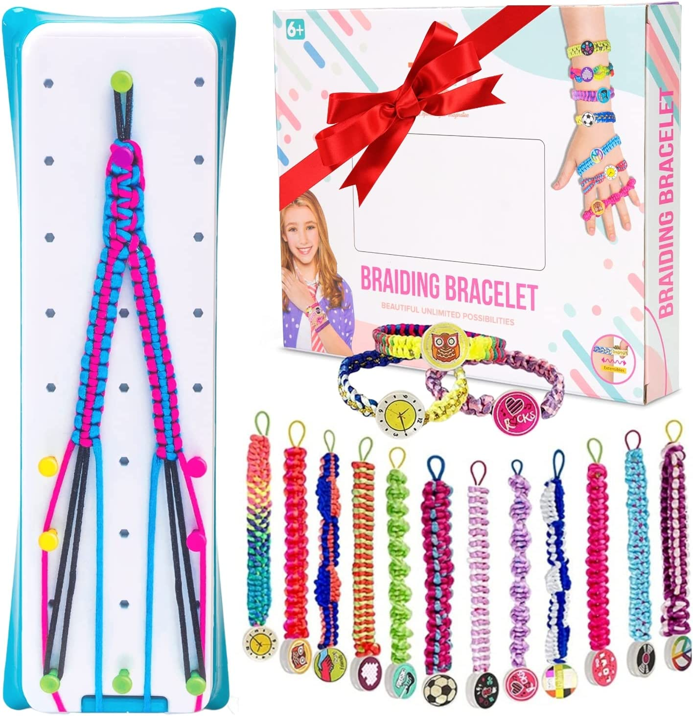 TinyToy Bracelet Making Kit Max 62% OFF Friendship – Girls Year-end annual account for