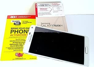 Samsung Galaxy Note 4 Straight Talk , runs on Verizon's 4G XLTE network via Straight Talk's $45 Unlimited plan. Phone is pre-registered & sim card is installed.