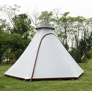 Utomhus lätt vikt vattentätt dubbelt lager av stort indiskt Tipi-tält camping tipi-tält