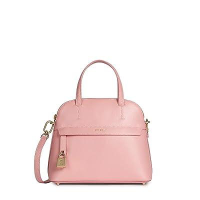 Furla Piper Small Dome (Pink) Handbags