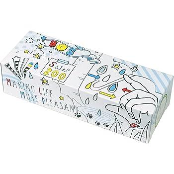 驚異の防臭袋 BOS (ボス) おむつが臭わない袋 Sサイズ 大容量 200枚入り 赤ちゃん用 おむつ 処理袋【ポップ柄パッケージ/袋カラー:白色】