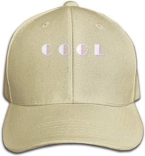 Lomoney Unisex Hats Casual Style Hat Print Classic-Jonas Cool Black