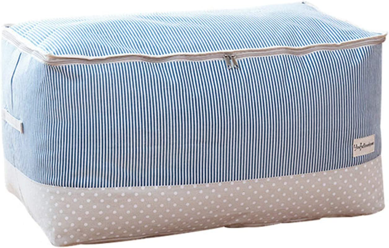 SXET Thick Cotton Linen Storage Regular store Waterproof Quilt Pa Bag 55% OFF Clothing