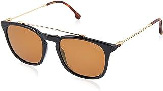 CARRERA Unisex Sunglasses, Rectangular, 154/S - Black/Brown