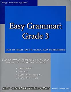 Easy Grammar Grade 3
