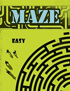 Maze Book for Kids: Kids Maze Book, Preschool to Kindergarten Maze Activity Book, Kids Mazes