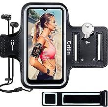 Gritin Looparmband voor iPhone 12/12 Pro/12 Pro Max/11/11 Pro/XS/XR/X tot 6,7 inch, Huidvriendelijke zweetbestendige sport...