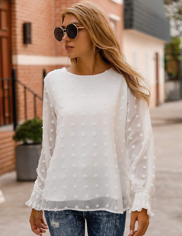 Blooming Jelly Camiseta blanca de verano con cuello en V de ...