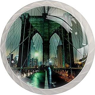 Brooklyn Bridge - Tirador de puerta de noche para muebles de cocina tocador diseño de cajón