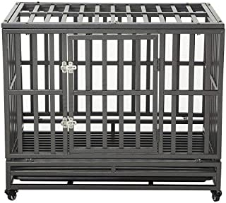 Best 48 heavy duty dog crate Reviews