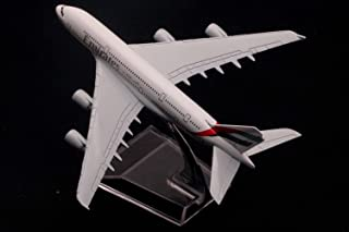 unbrand Europe Airbus A380 Airplane Airlines Boeing 757-200 Alloy Airplane Model