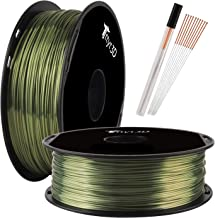 Shine Bronze 1.75mm PLA 3D Printer Filament Metallic Bronze Shiny 3D Printing Material 1KG Spool TTYT3D