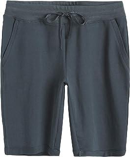 Weintee Women's Cotton Bermuda Shorts with Pockets