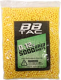 BBTac Airsoft BBS .12g 11,000 Rounds 6mm for Airsoft Guns BB Pellets Ammo 0.12 Gram Light Weight