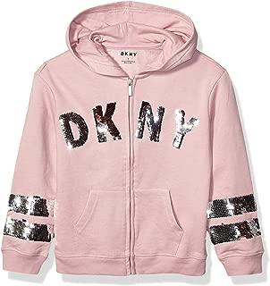 DKNY Girls' Big Hoodie