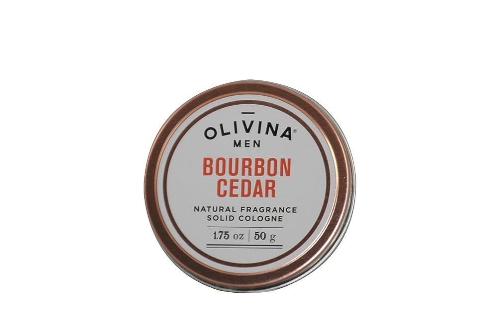 Olivina Men Natural Fragrance Cologne, Bourbon Cedar