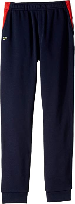 Fleece Athleisure Track Pants with Side Piping (Toddler/Little Kids/Big Kids)