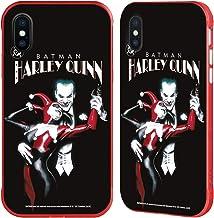 Head Case Designs Oficial Joker Art - Carcasa para iPhone de Apple, diseño con texto
