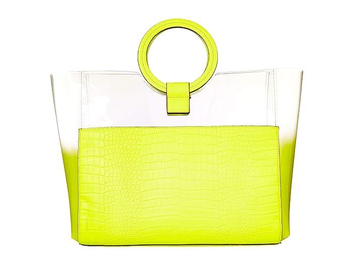 Vince Camuto  Clea Tote (Neon Yellow) Handbags