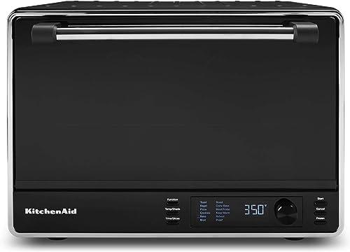 KitchenAid-KCO255BM-Dual-Convection-Countertop-Toaster-Oven
