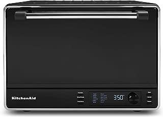 KitchenAid KCO255BM Dual Convection Countertop Toaster Oven.99Cu.', Matte Black