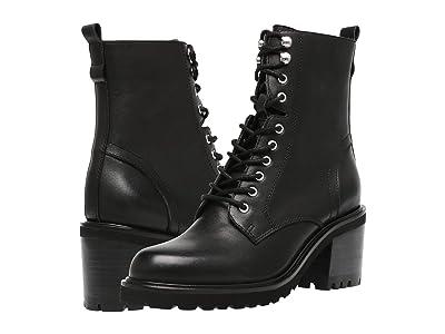 Steve Madden Brandt Boot (Black Leather) Women