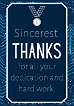 Sincerest Thanks for all Your Dedication and Hard Work: Christmas Gifts for Employees - Notebook Journal - Weekly Goal Che...