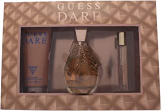 GUESS Dare 3 Pieces Gift Set For Women - 1 EDT 100 ml +200 ml Body Lotion +15 ml Mini Set