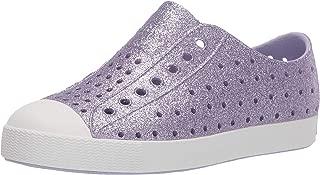 Native Kids Shoes Girl's Jefferson Bling Glitter (Little Kid) Powder Bling/Shell White 13 Little Kid