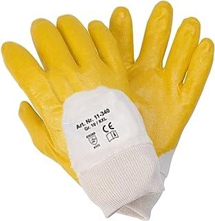 Tama/ño 9 bolsa de 12 pares Ansell 37-695//9 Solvex Nitrilo guante Verde Protecci/ón contra productos qu/ímicos y l/íquidos