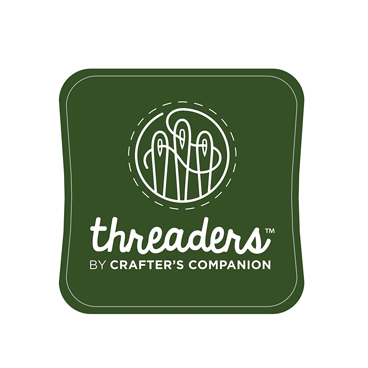 Threaders TH-1124 Fabric Ink Pads, Green