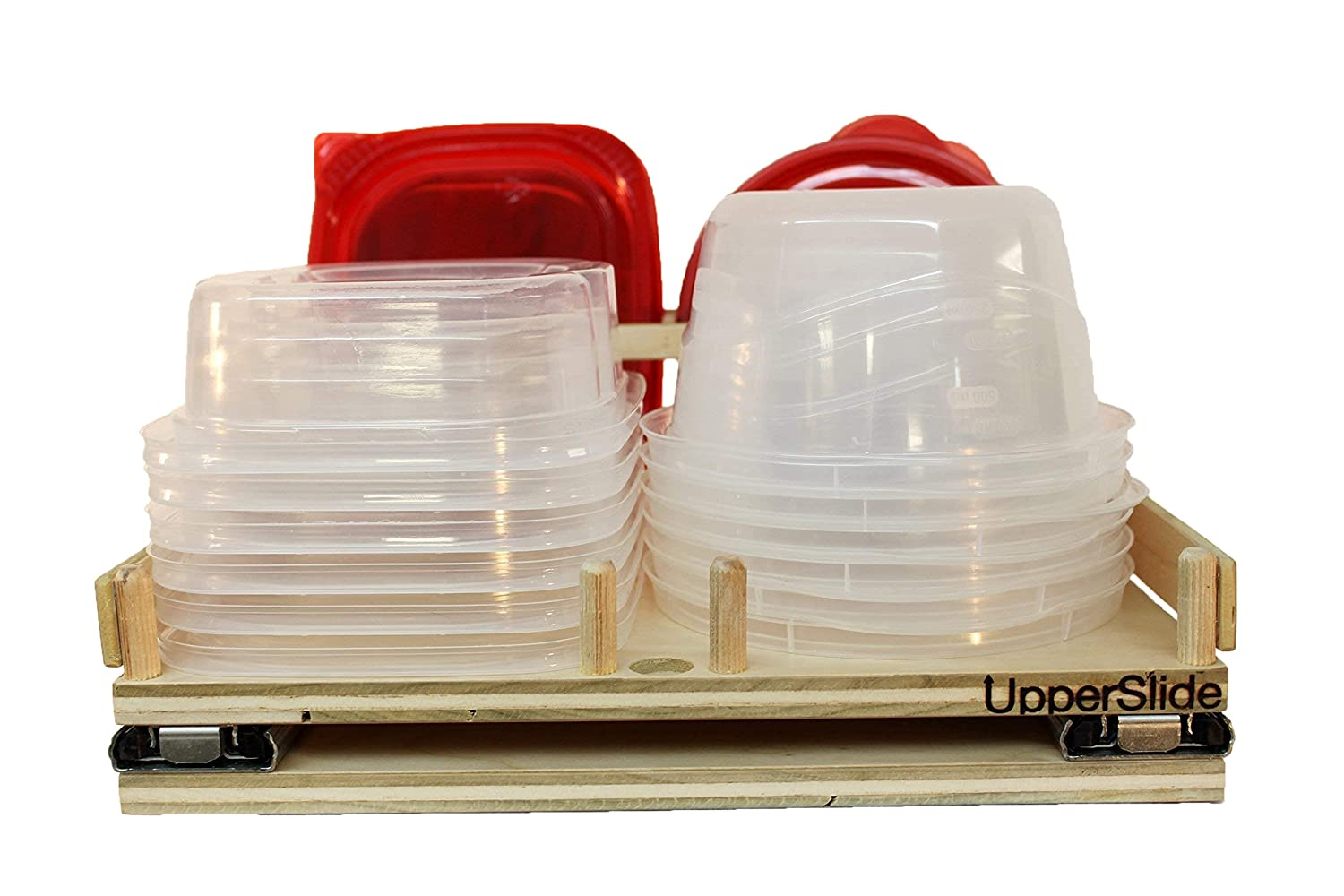 Pull Out Sliding Shelf Medium Caddy Upper Container High material for Los Angeles Mall Cabinet
