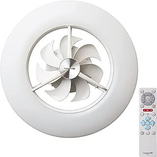 ルミナス LED シーリングサーキュレーター ~8畳 調光調色タイプ 光拡散レンズ搭載 シンプルリモコン付き ACC-08CM