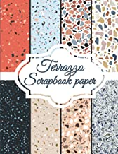 """Terrazzo Scrapbook Paper: Scrapbooking Paper size 8.5 """"x 11""""  Decorative Craft Pages for Gift Wrapping, Journaling and Car..."""