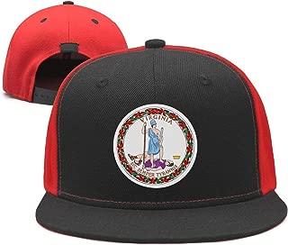 TylerLiu Baseball Cap Virginia Snapbacks Truker Hats Unisex Adjustable Fashion Cap