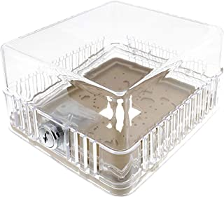BISupply AC Thermostat Cover with Lock, AC Thermostat Lock Box Cover Thermostat Guard with Lock – 6.6 x 5.9 x 3.4 Inch