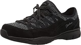Skechers Womens 49486 Seager - Zip Line - Fixed Bow Quarter Fit Slip-on