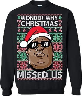 wonder why christmas missed us hoodie