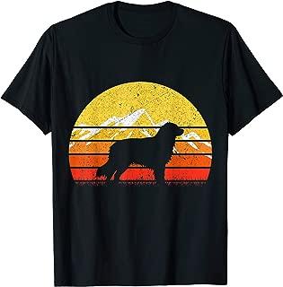 Retro Vintage Australian Shepherd Silhouette T-Shirt