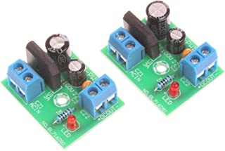 NOYITO 3A Mini Single Power Rectification Filter Module Input Voltage AC DC 3V-15V (Pack of 2)