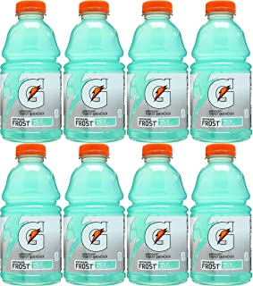 Gatorade Frost Arctic Blitz, Light Green, Thirst Quencher Sports Drink, 28oz Bottle (Pack of 8, Total of 224 Oz)