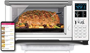 NUWAVE BRAVO XL 1800-Watt Convection Oven with Crisping and Flavor Infusion Technology (FIT) with Integrated Digital Tempe...