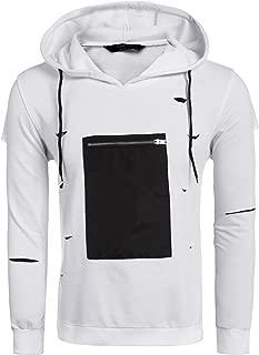 Coofandy Men's Long Sleeve T Shirts Fashion Tee Basic Shirt Casual Daily Wear