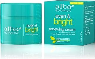 Alba Botanica Even and Bright Renewal Cream 2 Fl. Oz (Packaging May Vary)