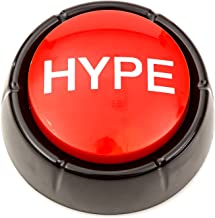 The Hype Button | Hip Hop Air Horn Sound Effect Button (Batteries Included)