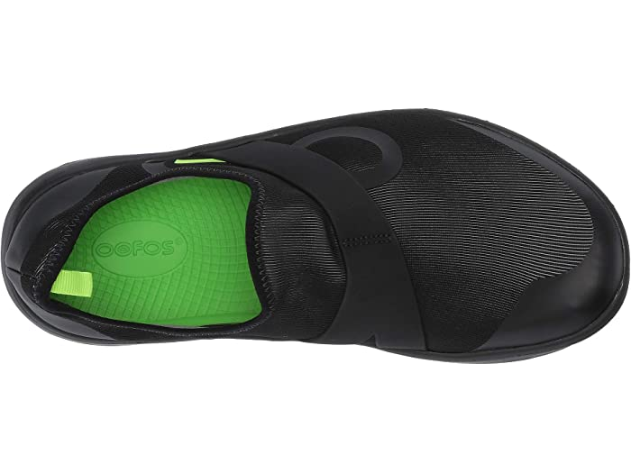 Oofos Oomg Fibra De Baja Black/gray Sneakers & Athletic Shoes