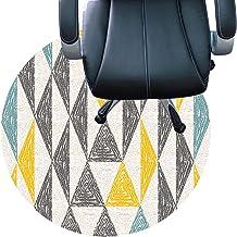 Desk Chair Carpet Short Pile Carpets Anti Slip Rug Pad Silent Floor Mat Easy to Clean Floor Protector Mat(Size:160cm/63in,...