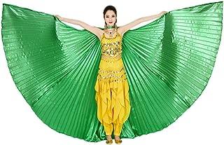 Navidad Material de claqu/é de Luz 360 Grados Different 4*Colores QXLhxuIo Alas de /ángel Egipcio para Danza del Vientre con Varillas Ajustables Accesorios