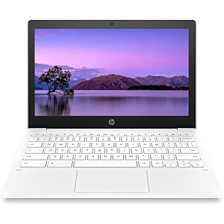 HP Chromebook 11-inch Laptop - Up to 15 Hour Battery Life - MediaTek - MT8183 - 4 GB RAM - 32 GB eMMC Storage - 11.6-inch HD Display - with Chrome OS - (11a-na0021nr, 2020 Model, Snow White)